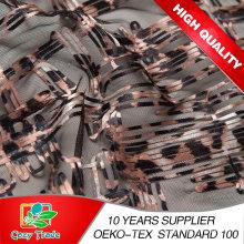 Neue Design-Gürtel-Stickerei mit Leopard-Druck-Stil