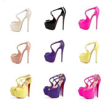 2016 Mode Sexy High Heel Lady Kleid Schuhe (s34)