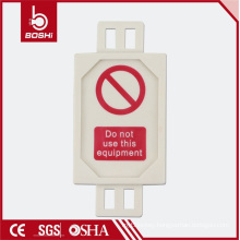 Hot New Design Ladder Scaffold Tag FOR lockout tagout ,BD-P31 with CE ROHS