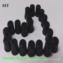 Pneu de valve de pneu en plastique de pp anti-poussière de pneu de forme de l'Allemagne Kxy-Gc01