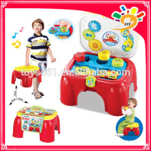 children infant child learning to receive a chair toy chest with drawers