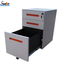 2018 amazon hot sale steel 3 drawer mobile file cabinet