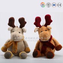 Importe de pelúcia enfeites de natal brinquedo de presente da china presente fábrica diretamente