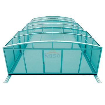 Skum screenet Inground glidekabinet Swimming Pool Cover