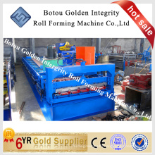 Glazed roof tile roll forming machine, steel plate making machine