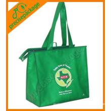 bolsos de compras no tejidos promocionales reutilizables del eco de la moda de la alta calidad