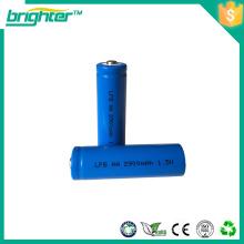 1.5V 2900mah AA tamanho Li / FeS2 bateria lithium lifepo4 baterias