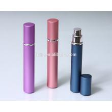 Atomizador colorido del perfume de aluminio 10ml