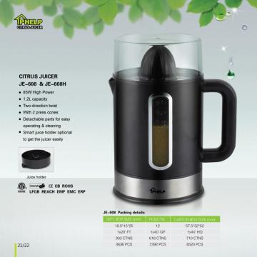 1.2L 85W Strong Electric Citrus Juicer Black
