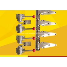 Accesorios de horno - Cerradura de puerta Bisagra de puerta Accesorios para equipos de secado Acero inoxidable