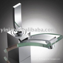 (G001-H) Glasbassin Wasserhahn