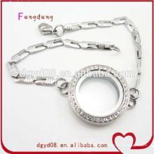 Alta qualidade por atacado de aço inoxidável charme pulseira pulseira jóias