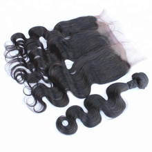 Top Quality Natural Color Brazilian 360 Lace Frontal Closure Unprocessed Human Hair