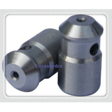Aço inoxidável CNC Turn carro peças pistão