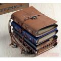 Empfindliches hochwertiges Imitation Leder Handwerk Perfektes Geschenk Journal, Tagebuch, Notizbuch, Gästebuch, Hobel, Agenda mit Strap