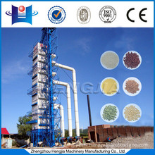 High output capacity grain dryer