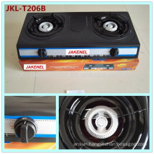 teflon coated 2 burner gas cooker stove