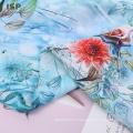 Impression numérique en tissu rayonné tissé