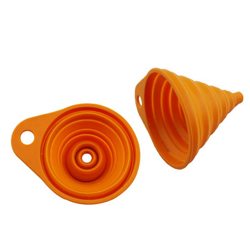 Silicone Foldable Collapsible Funnel Liquid Powder funnel