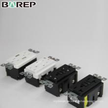 BAS15-2USB Kanada Stil elektrische Wand vertikale Steckdose