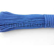 Ployester cordão de 550 pára-quedas azul 100 pés
