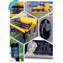 Portable SG9015 Photo Gravure Machine à gravier laser marbre