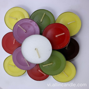 14G Unededed White / Color Nhựa Bag Sáp Tealight Nến