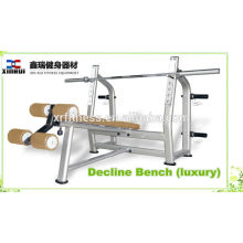 best selling free weight lifting Decline Bench (luxury) for promotion/fitness equipment made in China