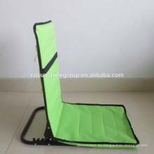 venta caliente 2015 plegable asiento de playa con bolsillo para la promoción