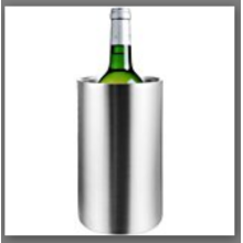 One bottle metal ice bucket for wine