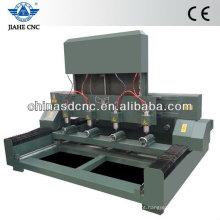 JK-4080 madeira máquina router cnc com quatro cabeça e quatro dispositivo rotativo para a gravação do cilindro