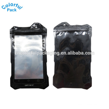 High quality custom printing laminated mobile phone accessories bag iphone 6 packaging bag with hole