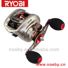 Aquila Double brake system reel Corrosion Resistant fishing reel casting reel left hand
