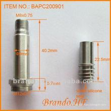 Solenoide Polepiece / Tubo guía / émbolo para válvula solenoide, diámetro del tubo 9mm