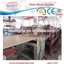 máquina de planta de fabricación de WPC pvc muebles planchas/tablas