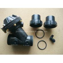 Ablandador de agua Y Tipo válvula de diafragma Dn50