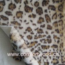 Leopard Druck Pelz