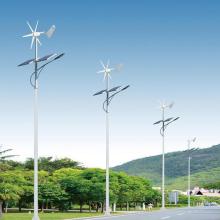 Steel Pole IP65 Hybrid Wind Solar LED Street Light Outdoor