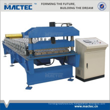 Full automatic steel profile roll forming machine