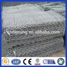 PVC revestido gabion caixas / Gabion cestas / Gabion galvanizado para venda