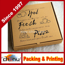 Caixa de pizza ondulada impressa (1311)