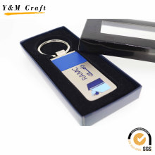 Wholesale Special Design Round Metal Key Ring Keychain (Y02449)
