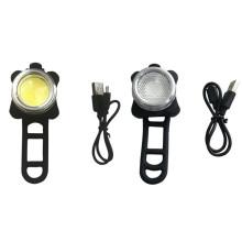COB Led USB Rechargeable Bike Light Set