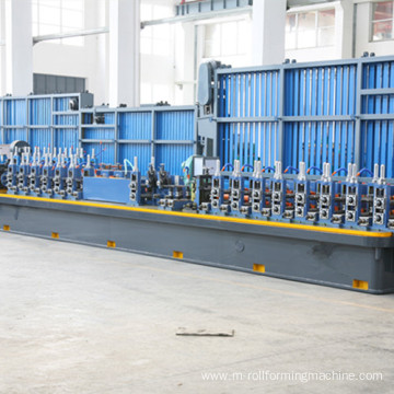Steel tube mill production line
