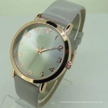 Precio barato colores ginebra analógico señora pulsera ginebra reloj