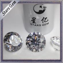 9hearta e 1 flor de diamante sintético especial de corte brilhante de alta qualidade
