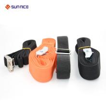 Correa personalizada para equipaje de gancho y lazo con hebilla de plástico