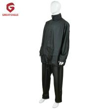 Высококачественный костюм от дождя PU