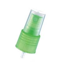 Зеленый цвет Пластиковые Mist спрей для косметической бутылки (NS12)