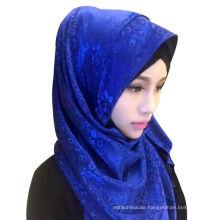 Neue Ladys Qualität Chiffon Kopftuch lange Hijab Muslim Schal Schal